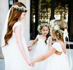 Cute bridesmaid dresses for little girls ideas 23